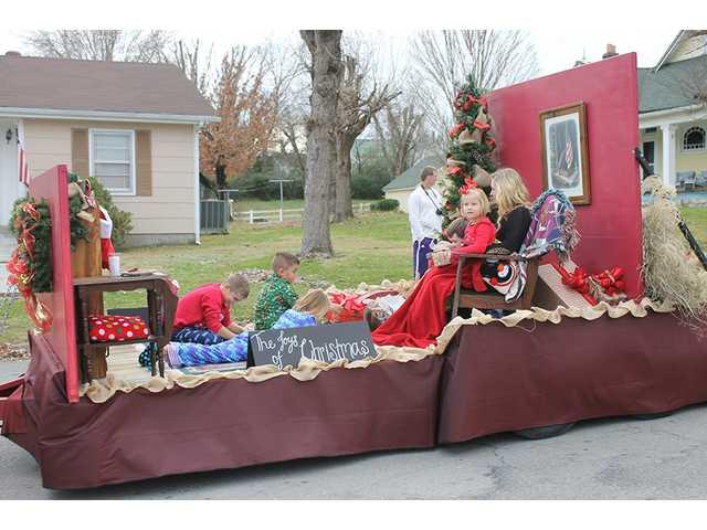 Santa visits Alexandria