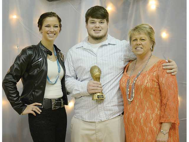 Ball named DCHS Football MVP
