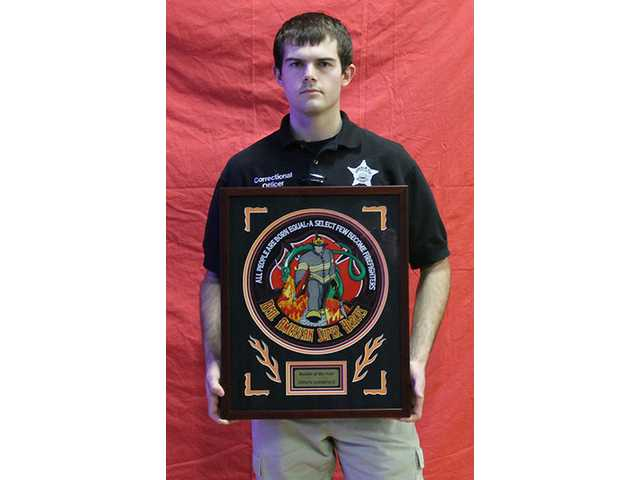 Summers named Firefighter of the Year