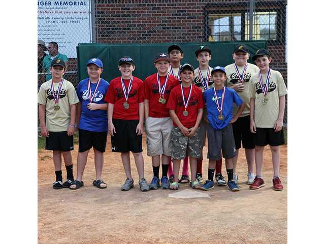 Youth baseball wraps up regular season