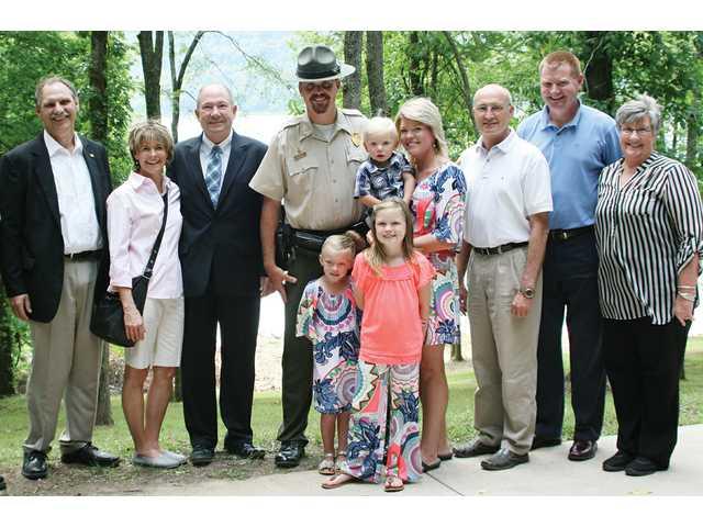 Locals meet new park manager