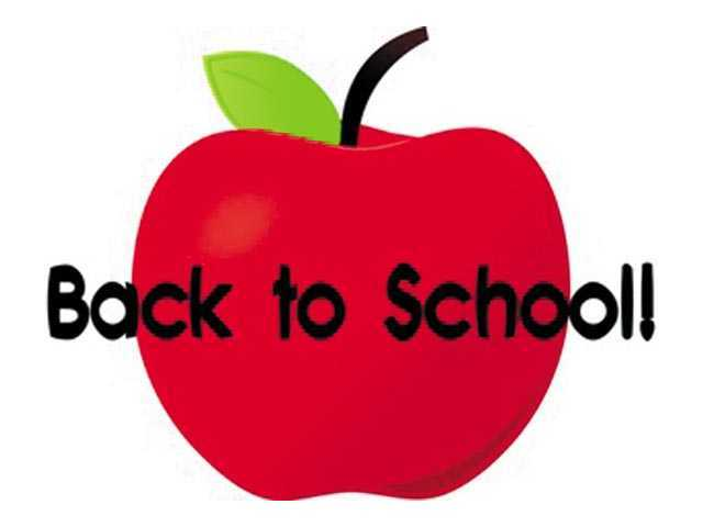 School begins Aug 3