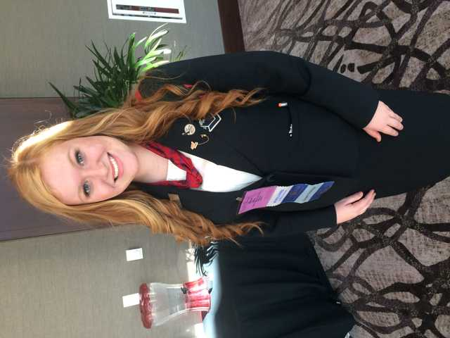 Hannah James Attends National Fall Leadership