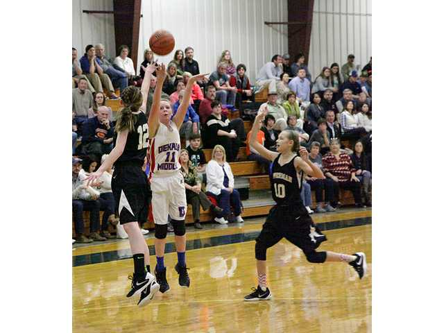Lady Saints exterminated by Upperman