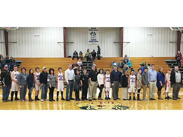 Saints eighth graders honored
