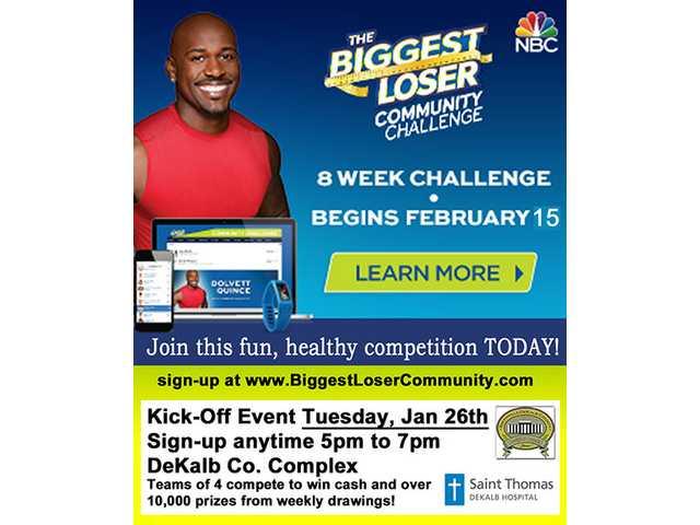 Biggest Loser Community Challenge comes to DeKalb