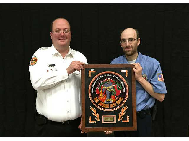 Sartin named Firefighter of the Year