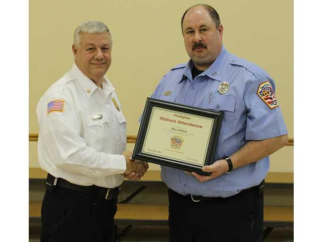 Hale receives top city fire award