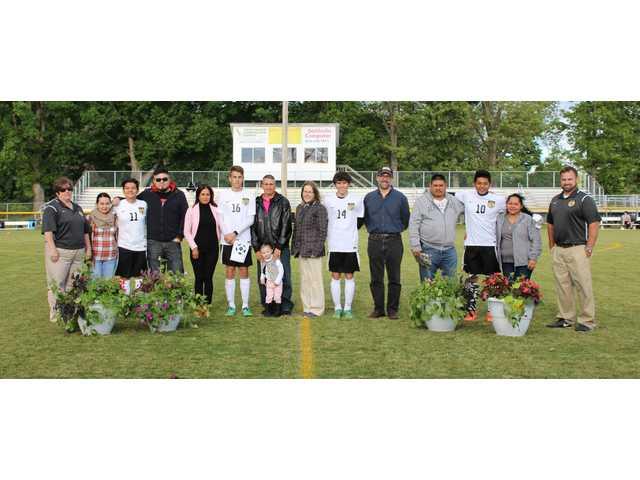 DCHS soccer seniors honored
