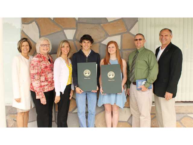 Chew, Pafford honored by state government