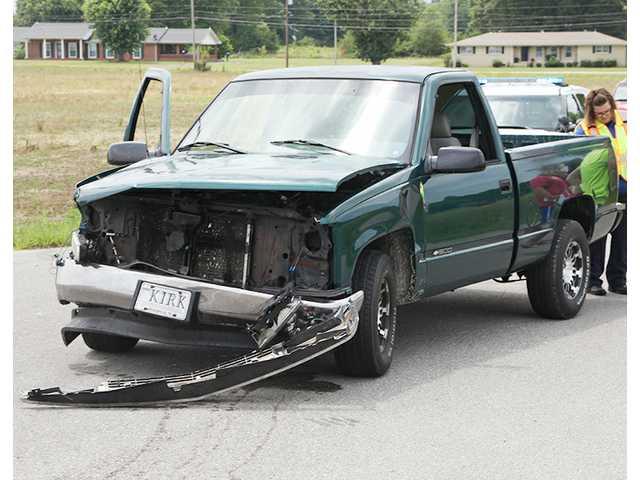 Four involved in crash
