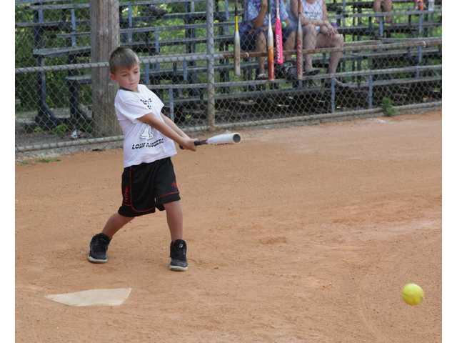 Co-ed softball at Bill Page Park