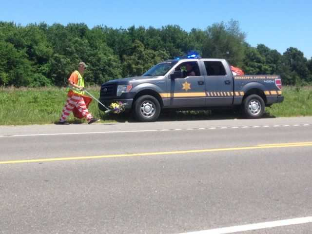 Sheriff begins second round of litter pickup