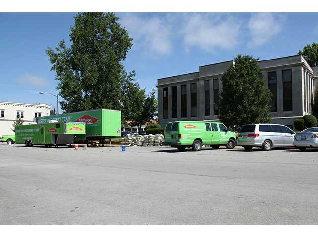 Cleanup at courthouse proves costly