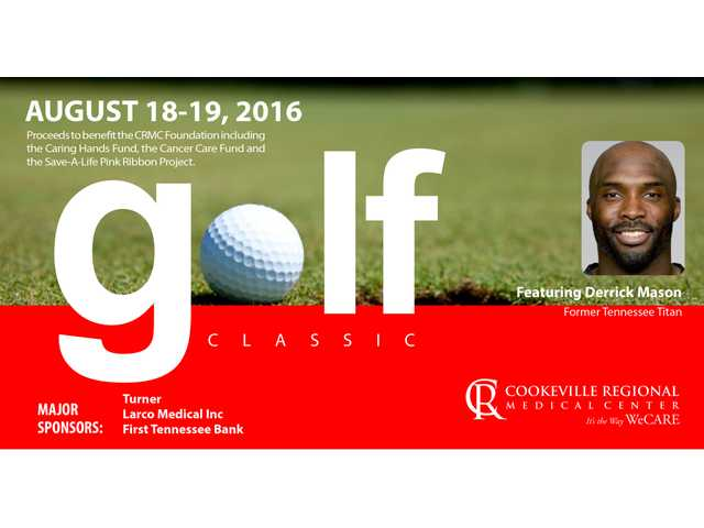 CRMC Golf Classic to be held Aug. 18-19