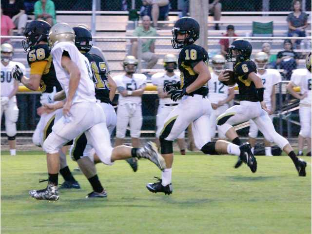Tigers scrimmage Friendship Christian