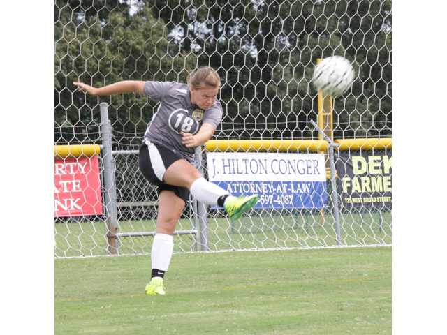 DCHS ladies snag second place in soccer playday
