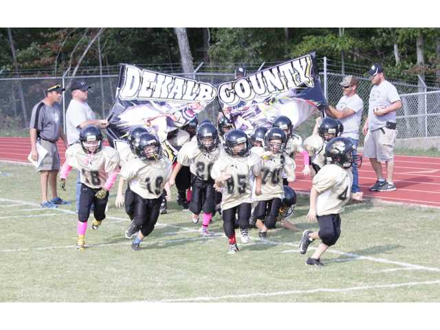 Peewee Tigers pounce on Bulldogs for Super Bowl win