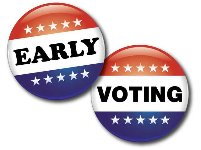 Early voting hours extended after server malfunction