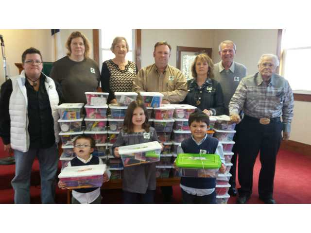 Banks Cumberland Presbyterian Church Participates in Operation Christmas Child