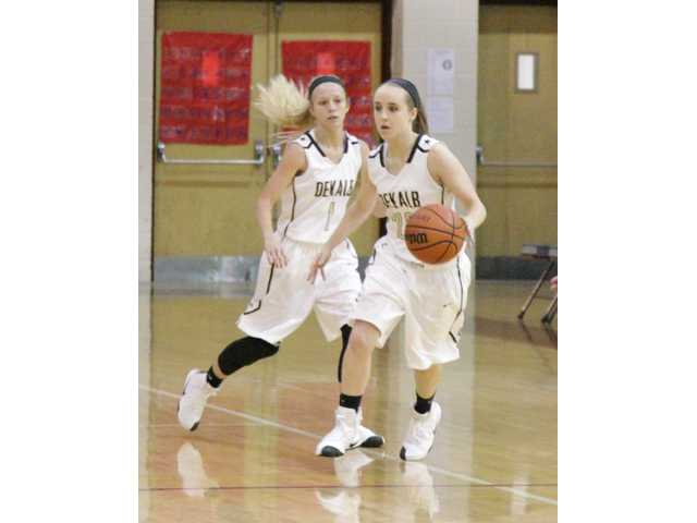 Lady Tigers defeat Trousdale, lose two in tourney