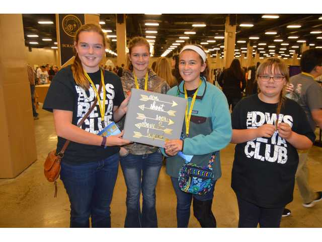 Hayes takes second at Jr. Beta convention