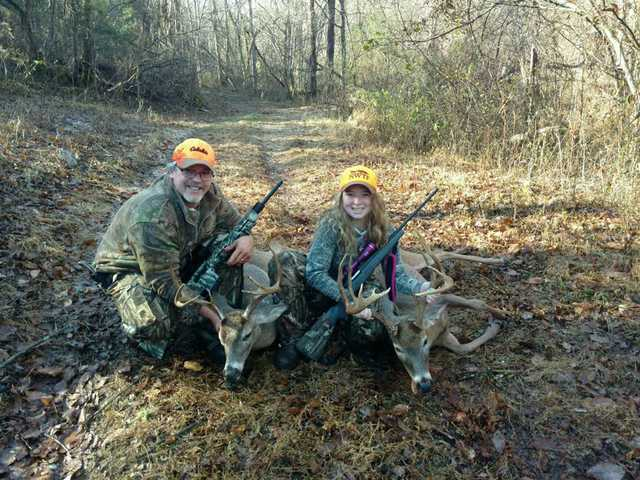 Father and Daughter hunting partners.