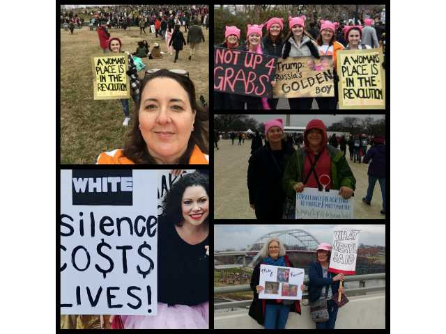 DeKalb Countians join women's marches