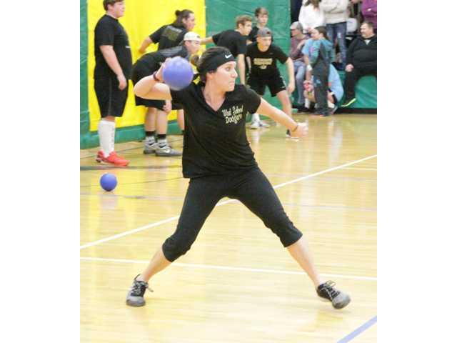 Big turnout for Tigerette dodgeball tourney