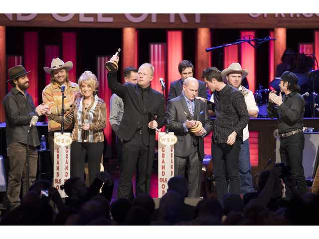 Daily & Vincent inducted into Grand Ole Opry