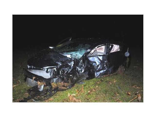 Three involved in Monday night crash