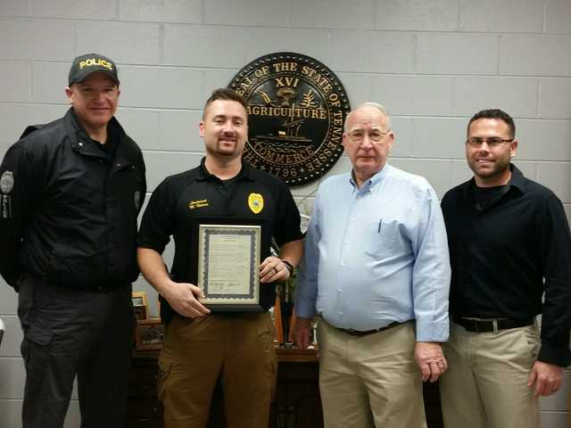 Three Smithville Officers receive accomodations