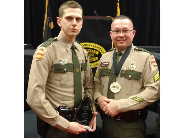 Troopers honored