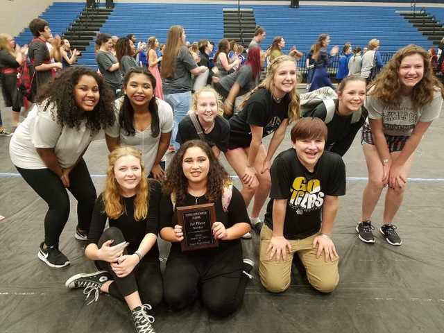 Winterguard takes first place
