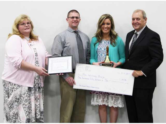 Brelje named Teacher of the Year