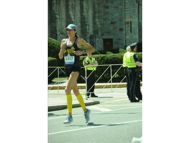 Van Vranken finishes Boston Marathon