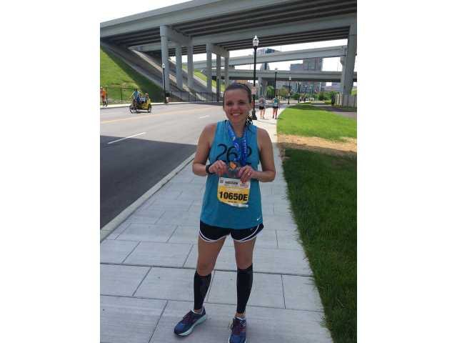 Malone runs in Derby Marathon