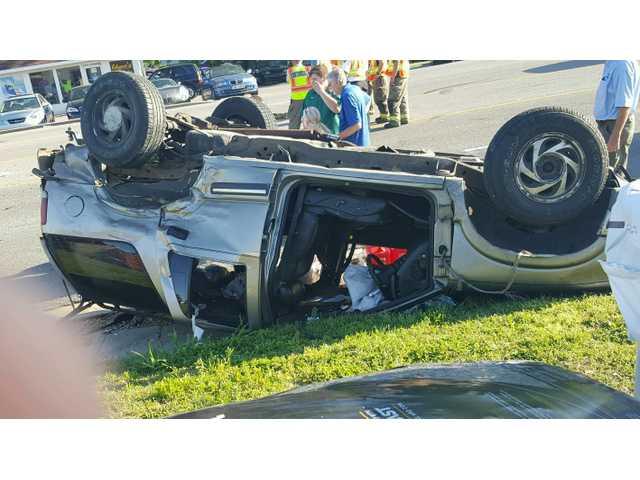Algood police car involved in crash