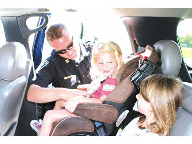 City police to hold car seat safety checkpoint June 7