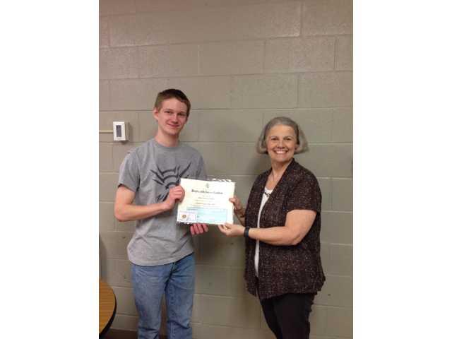 James Mathis receives DAR Good Citizen award