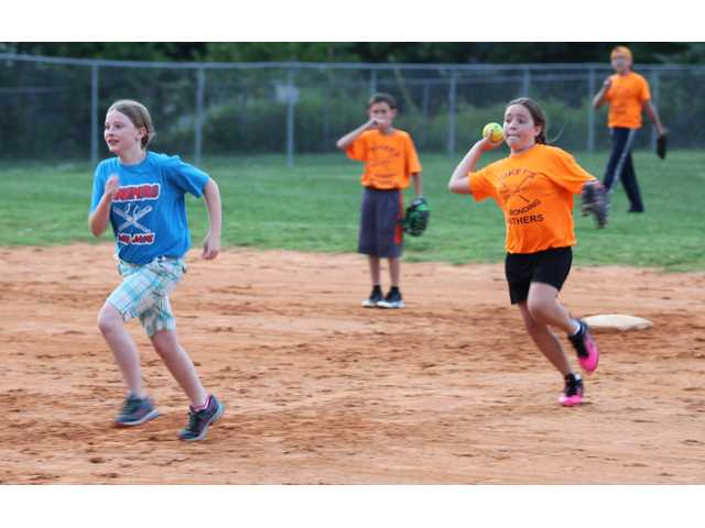 Bill Page softball heats up