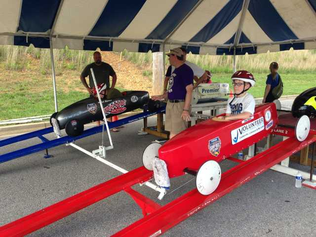 Spears Brothers Compete in the Local All-American Soap Box Derby