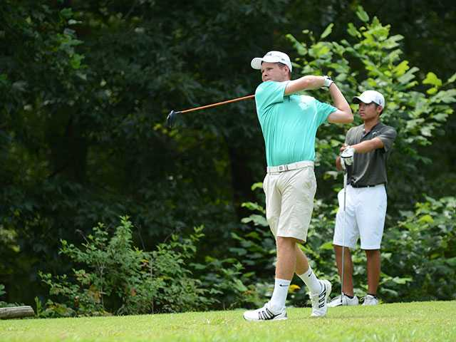 Walker competes against golfers from around the world
