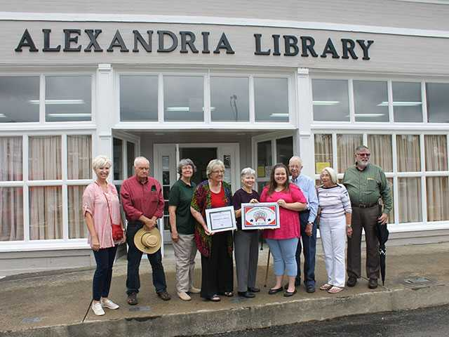 Busy day at Alexandria Library