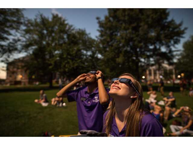 Tech experiences solar eclipse totality