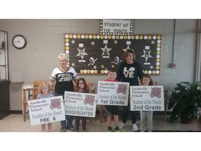 Smithville Elementary September students honored