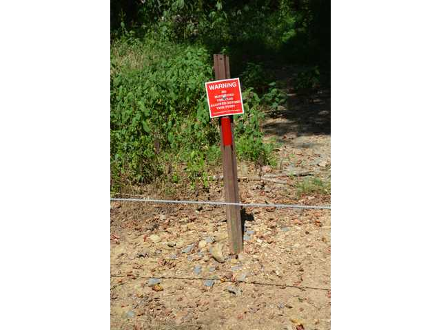 Vandalism continues at the Boils Wildlife Management Area