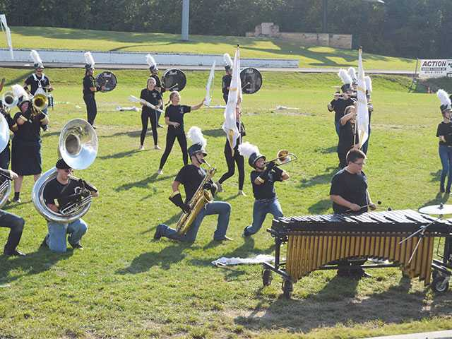 DCHS Band rated 'excellent'