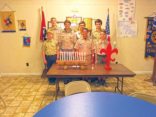 Boy Scouts honored for hard work