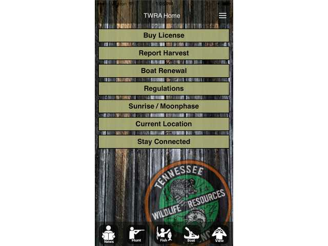TWRA updates smartphone app with goal to help users discover outdoor opportunities